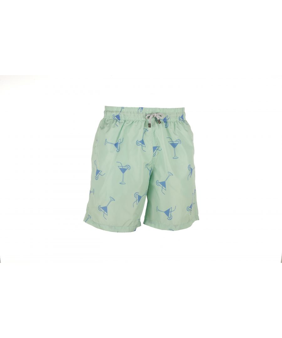 Image for Men's Green Cocktails Swim Shorts