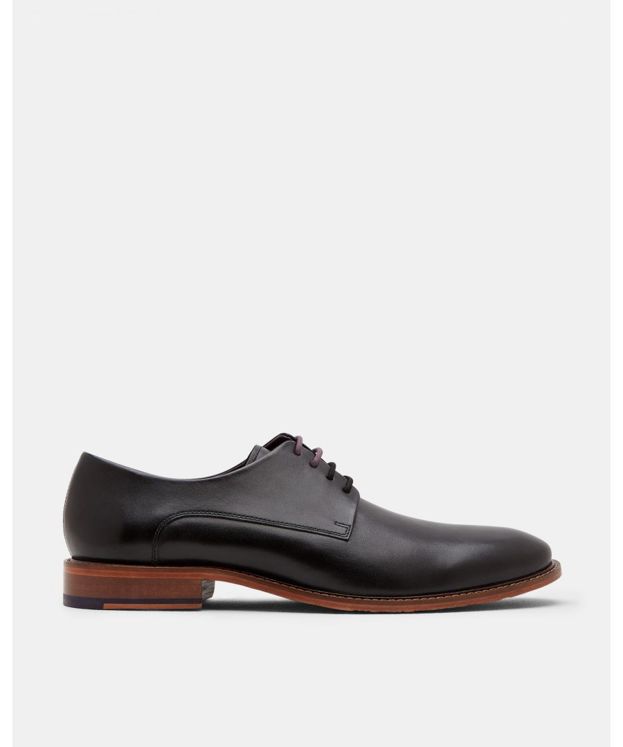 Image for Irron Leather Derby Shoe in Black