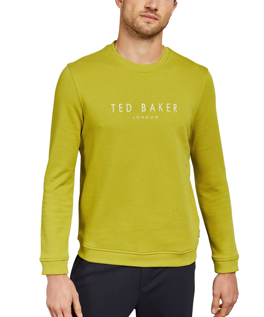 Image for Sweat Longsleeve Branded Anniversary Sweat in Lime
