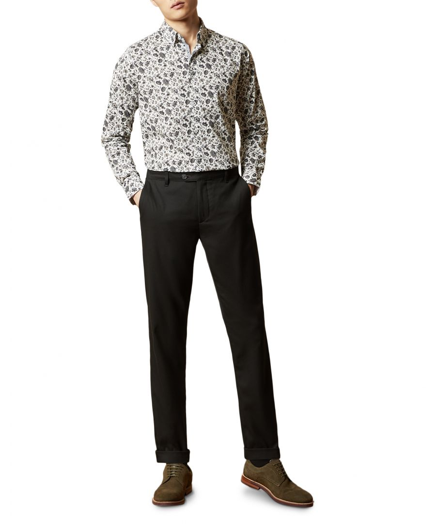 Image for Licant Longsleeve Floral Print Shirt in Blue