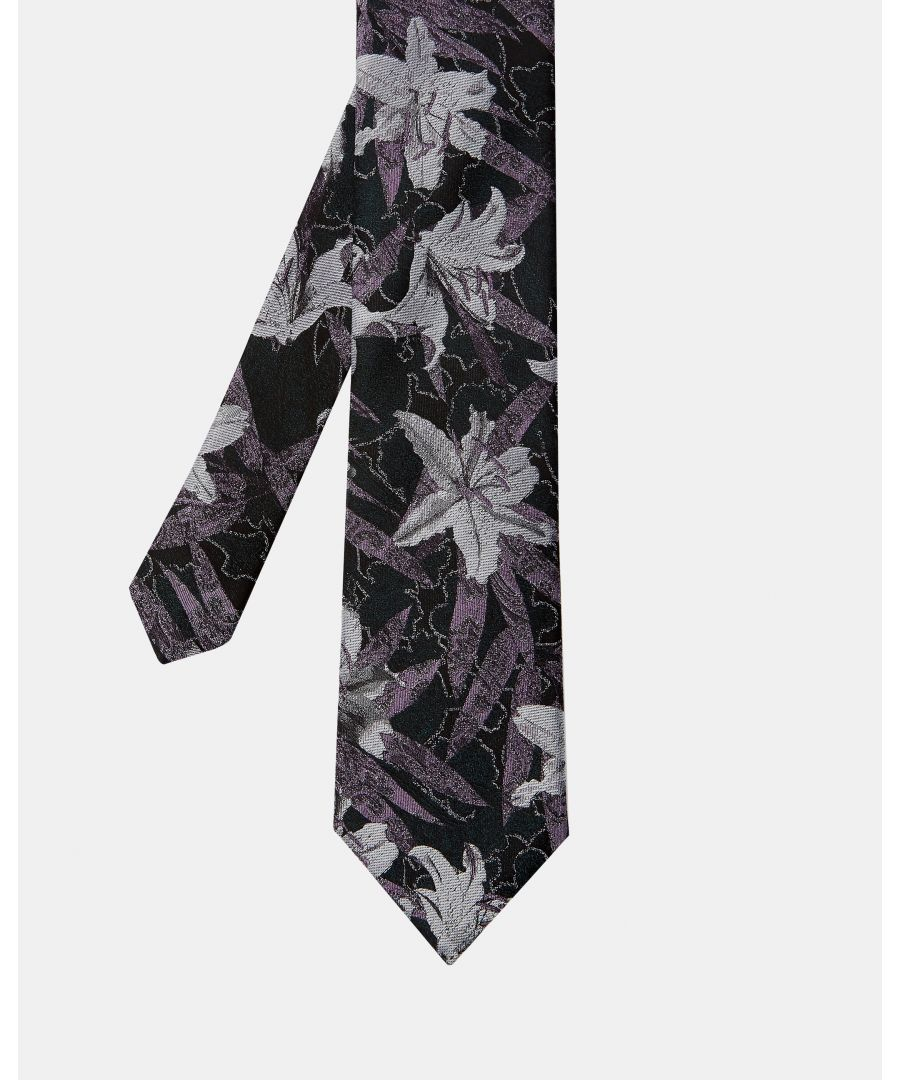 Image for Scene Floral Tie in Green