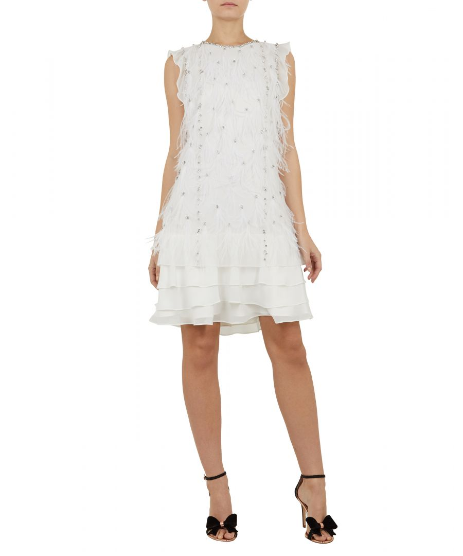 Image for Flleur Feather Tunic in White