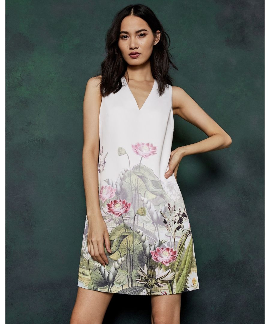 Image for Ted Baker Staycy Wonderland Waterfull Dress, Ivory