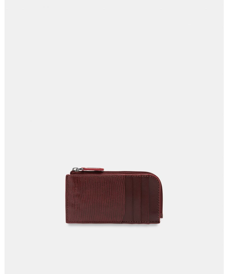 Image for Goblin Contrast Edge Card Holder in Maroon