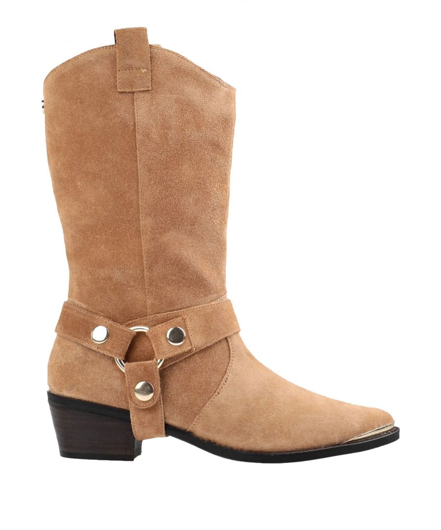 Image for Steve Madden Women's Leather Ankle Boots