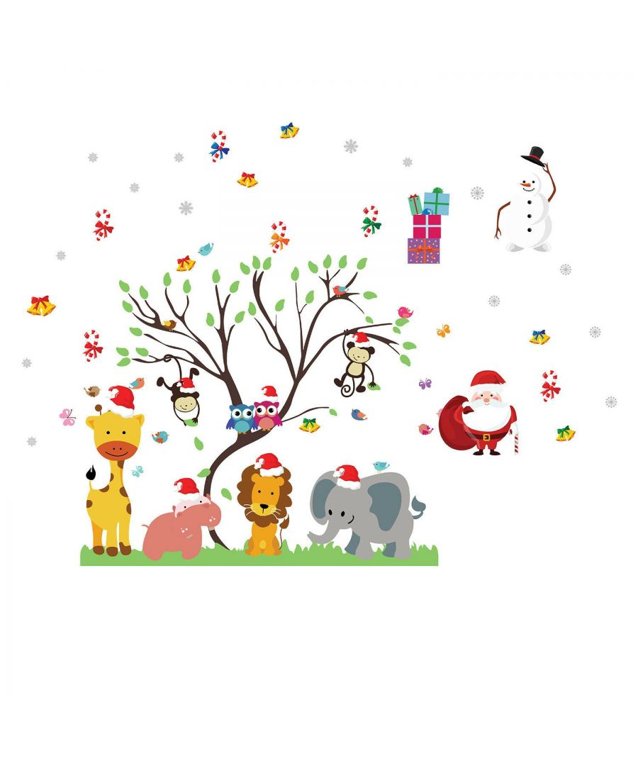 Image for WFXC12216 - WS3324 + FL69WS001 - Together for Christmas Wall Stickers