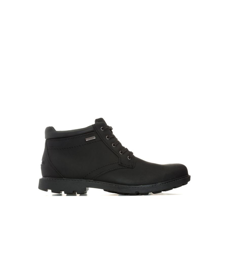 Image for Men's Rockport Storm Surge Plain Toe Boot in Black