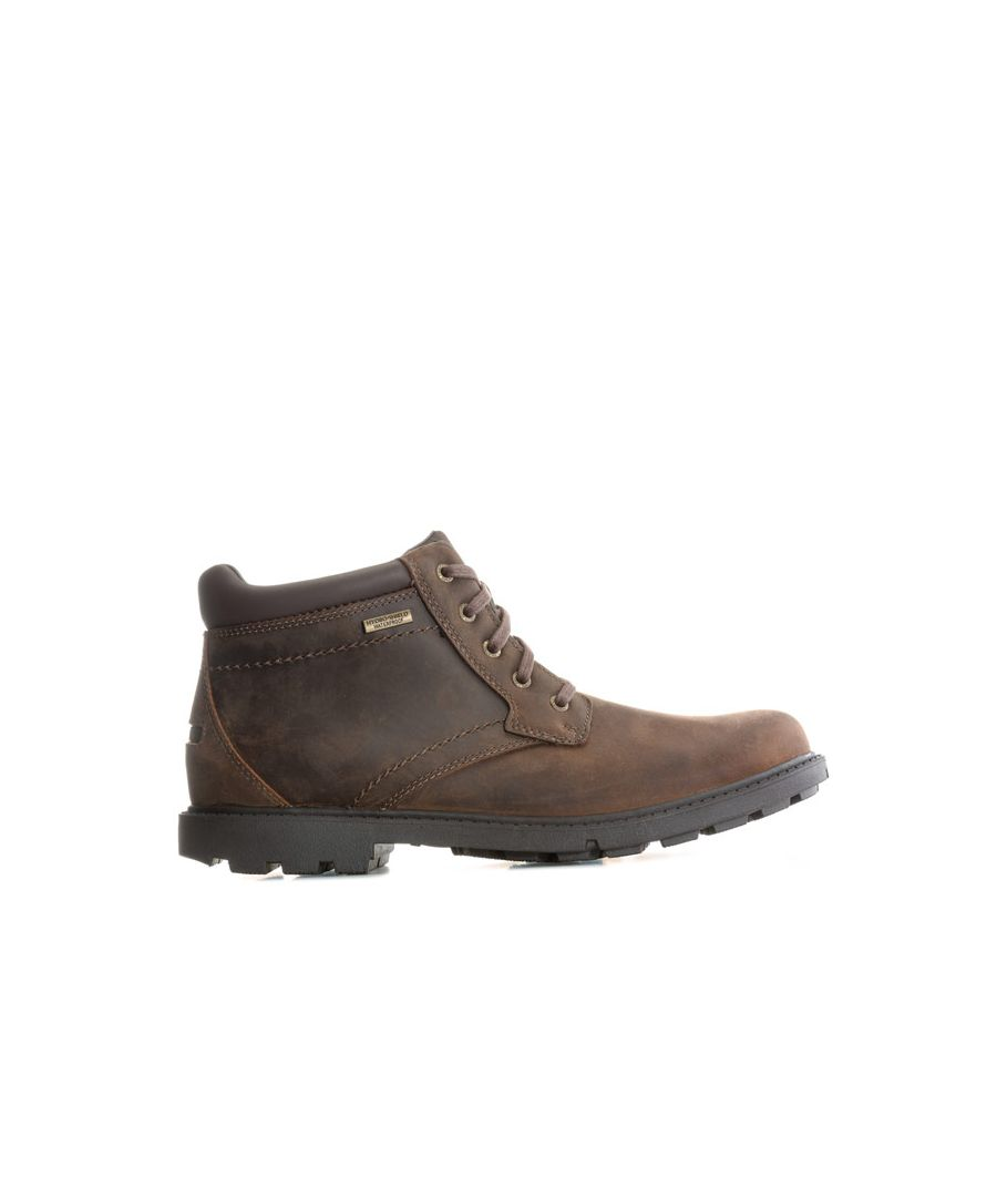 Image for Men's Rockport Storm Surge Plain Toe Boots in Brown