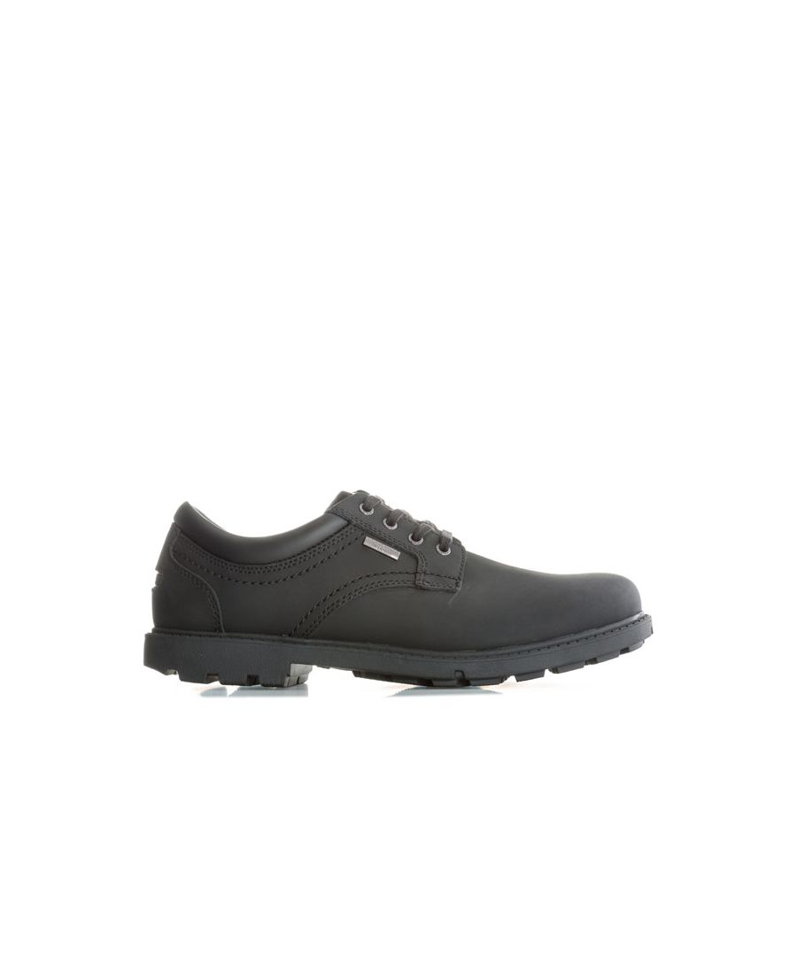 Image for Men's Rockport Storm Surge Plain Toe Shoes in Black