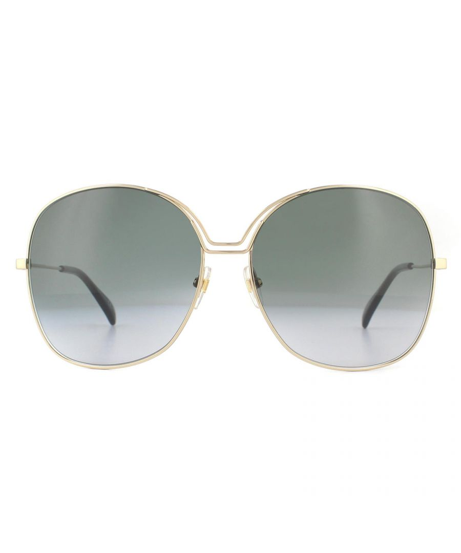 Image for Givenchy Sunglasses GV7144/S J5G 9O Gold Dark Grey Gradient