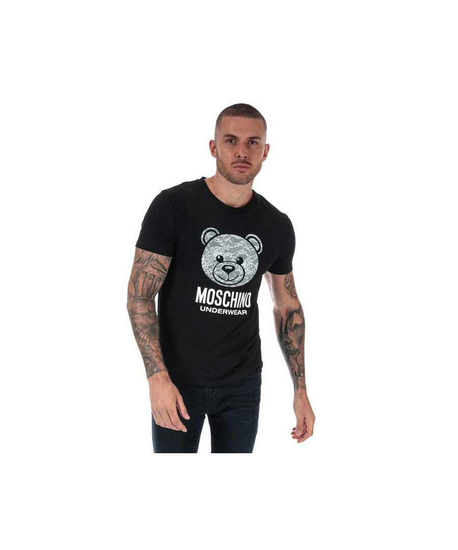 Image for Men's Moschino T-Shirt in Black