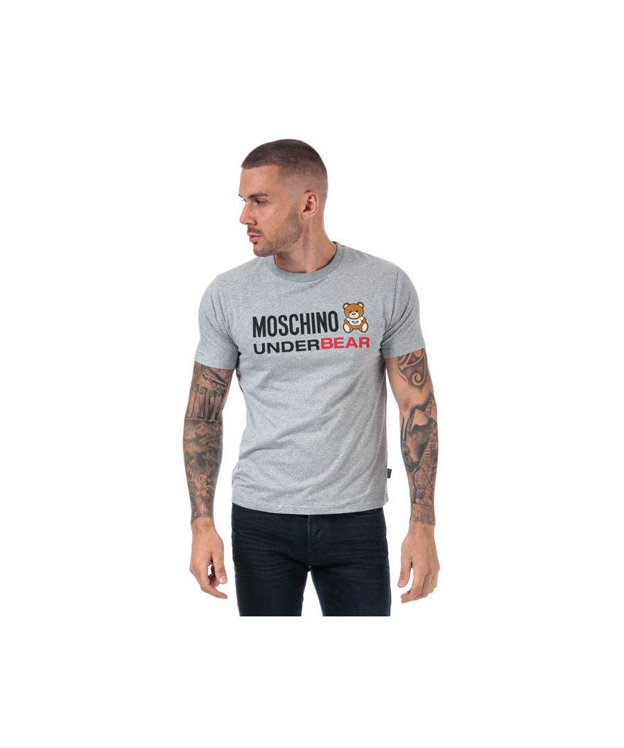 Image for Men's Moschino T-Shirt in Grey