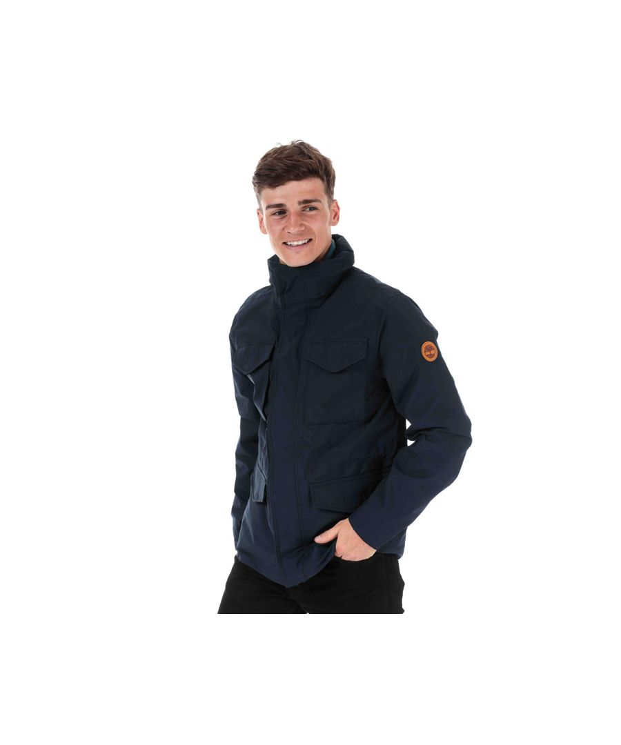 Image for Men's Timberland 3 in 1 M65 Jacket in Navy