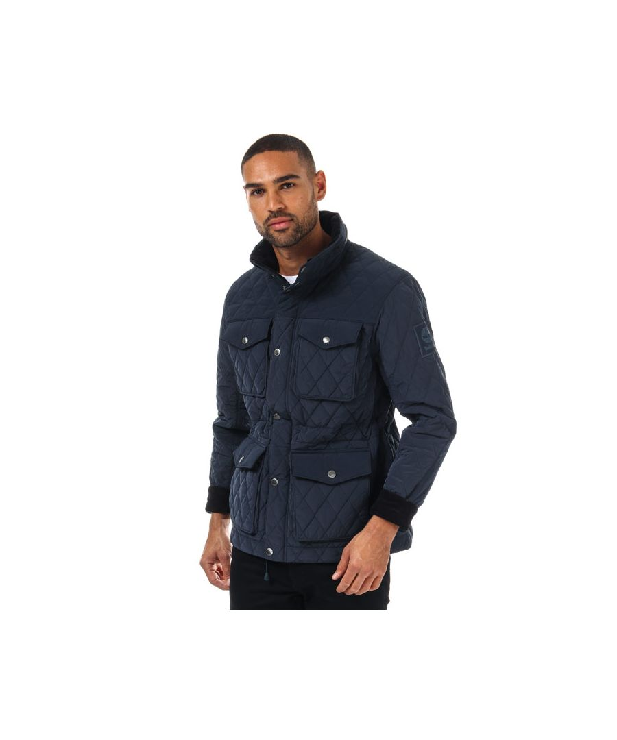 Image for Men's Timberland Qulted M65 Jacket in Navy