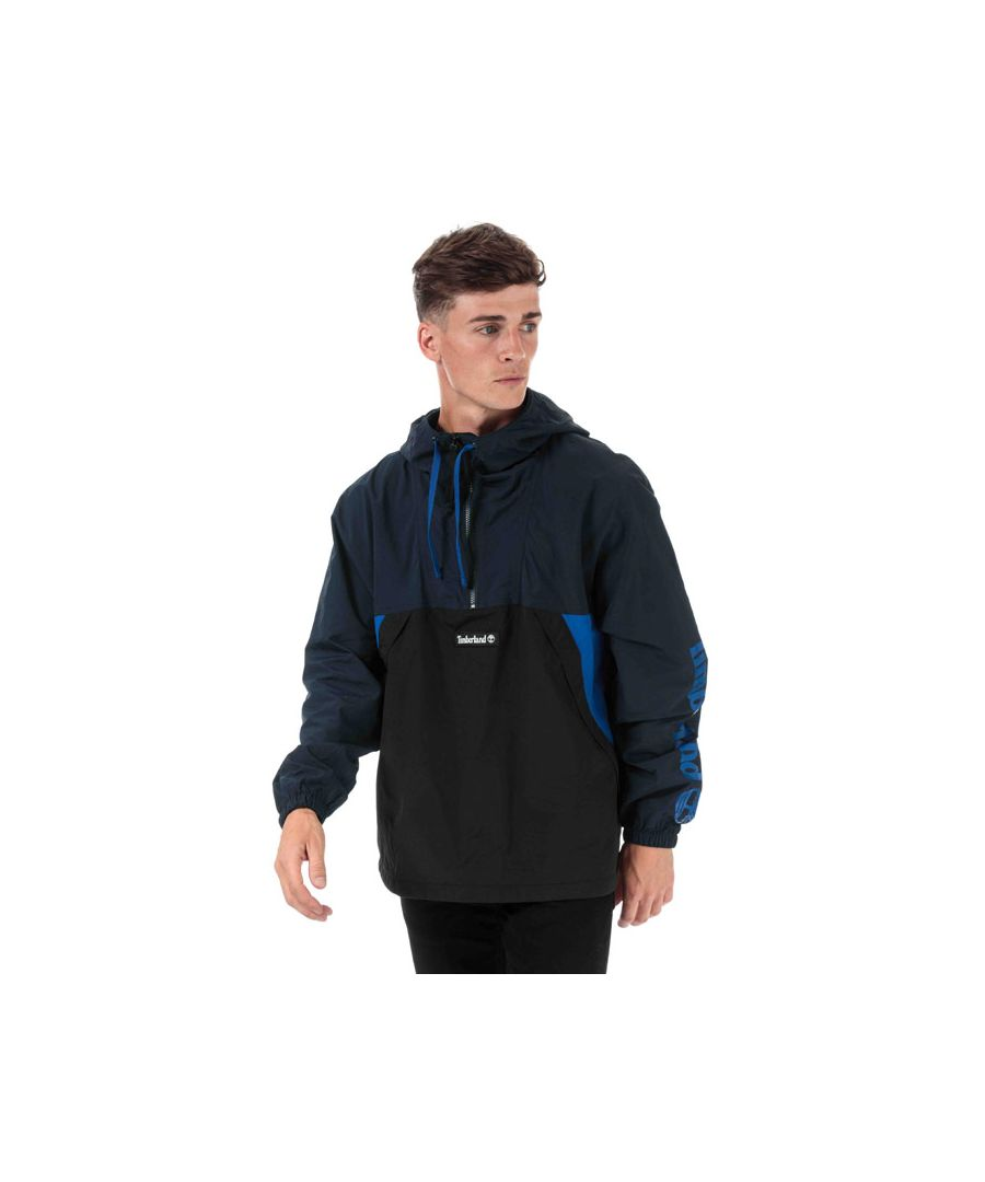 Image for Men's Timberland YC Trial Pullover Jacket in Navy