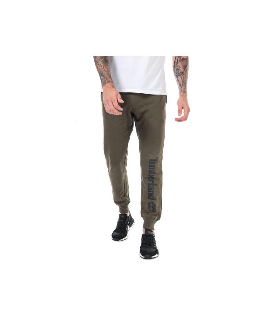 Image for Men's Timberland Core Logo Jog Pants in Khaki