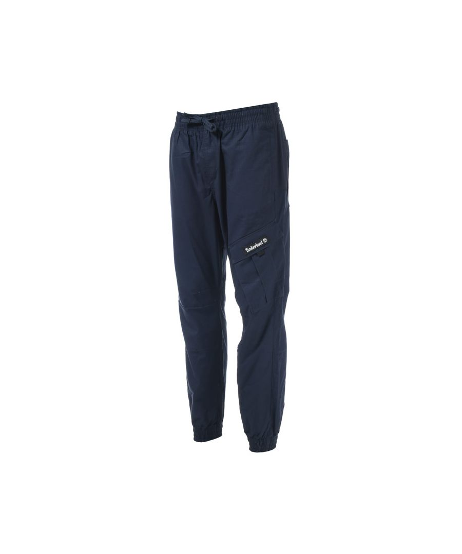Image for Men's Timberland Cargo Jog Pants in Navy