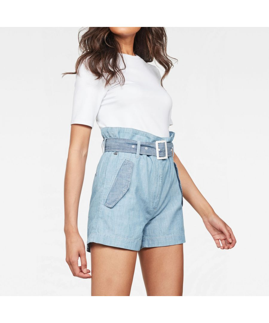 Image for G-Star RAW Rovic High waist Paperbag Shorts