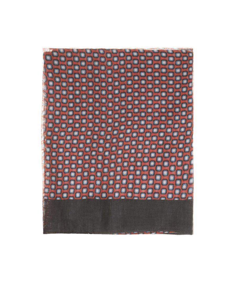 Image for Men's Hackett, Circular Scarf in Red