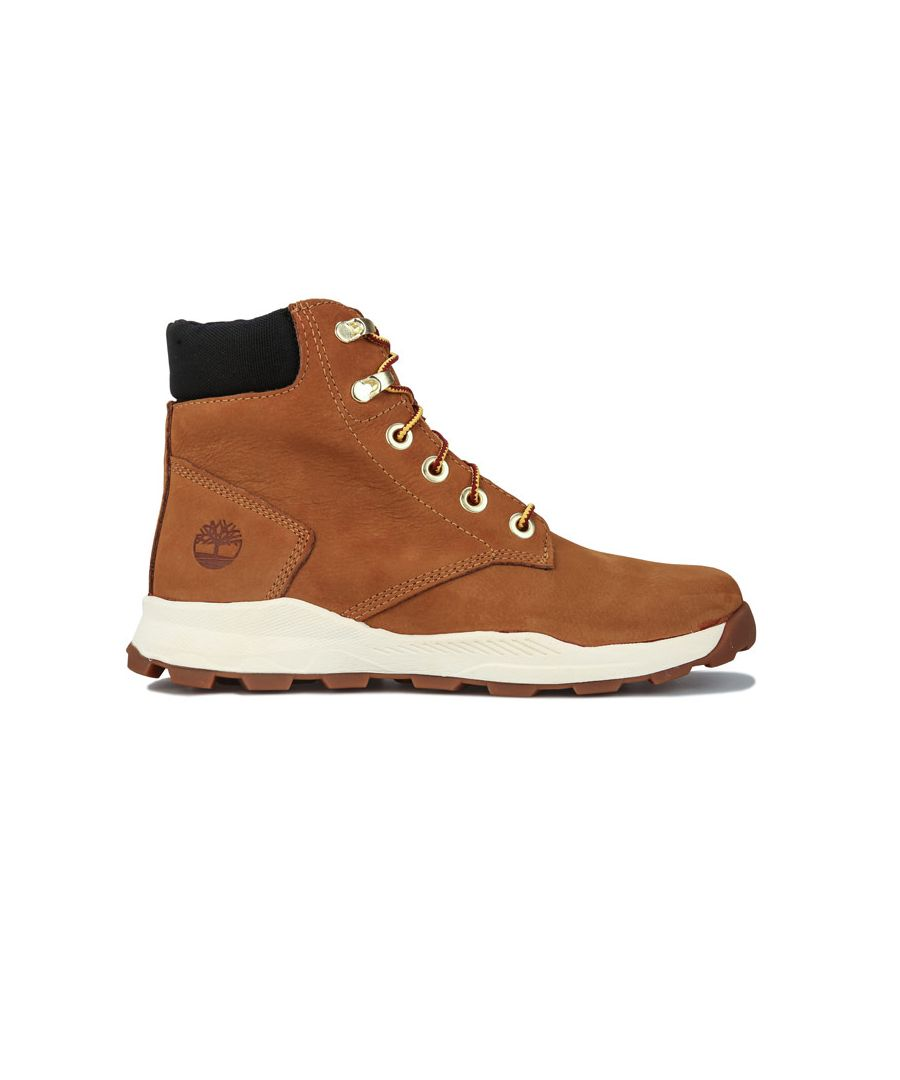 Image for Boy's Timberland Junior Brooklyn Sneaker Boot in Wheat