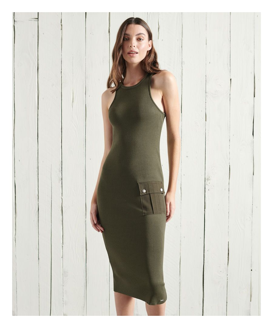 Image for Superdry Racer Woven Patch Dress