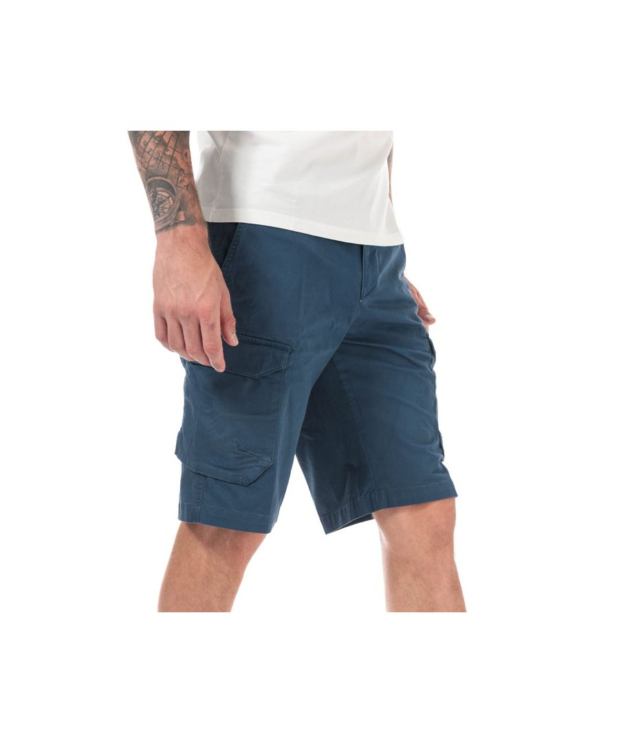 Image for Men's Timberland Tarleton Lake Cargo Shorts in Denim