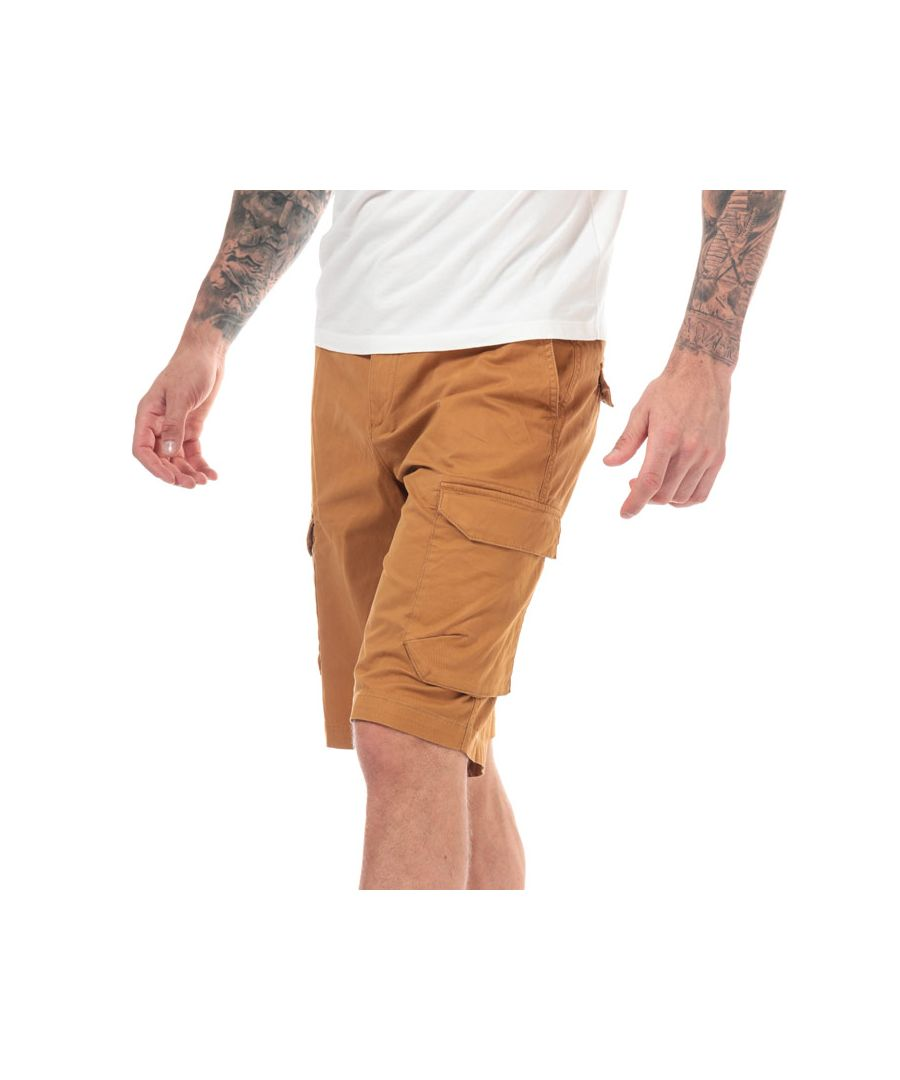 Image for Men's Timberland Tarleton Lake Cargo Shorts in Wheat