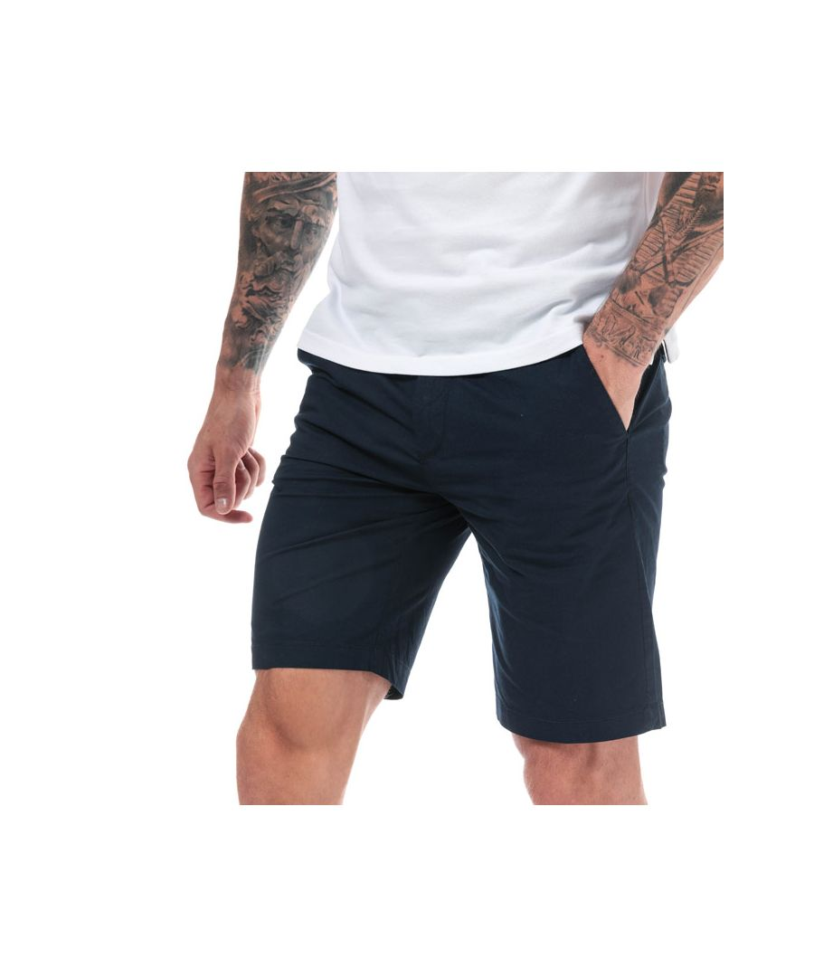 Image for Men's Timberland Squam Lake Stretch Chino Shorts in Navy