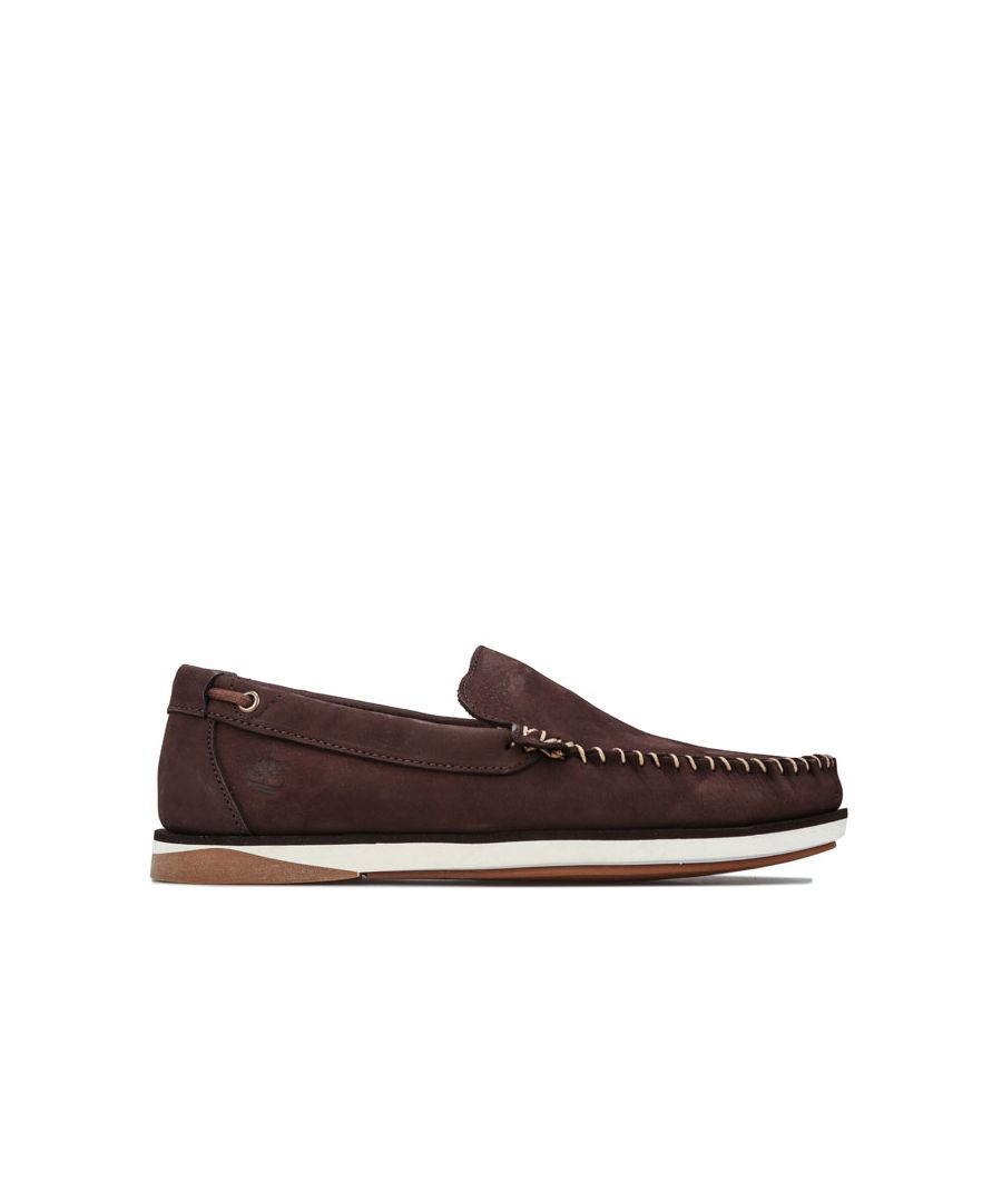 Image for Men's Timberland Atlantis Break Venetian Boat Shoes in Brown