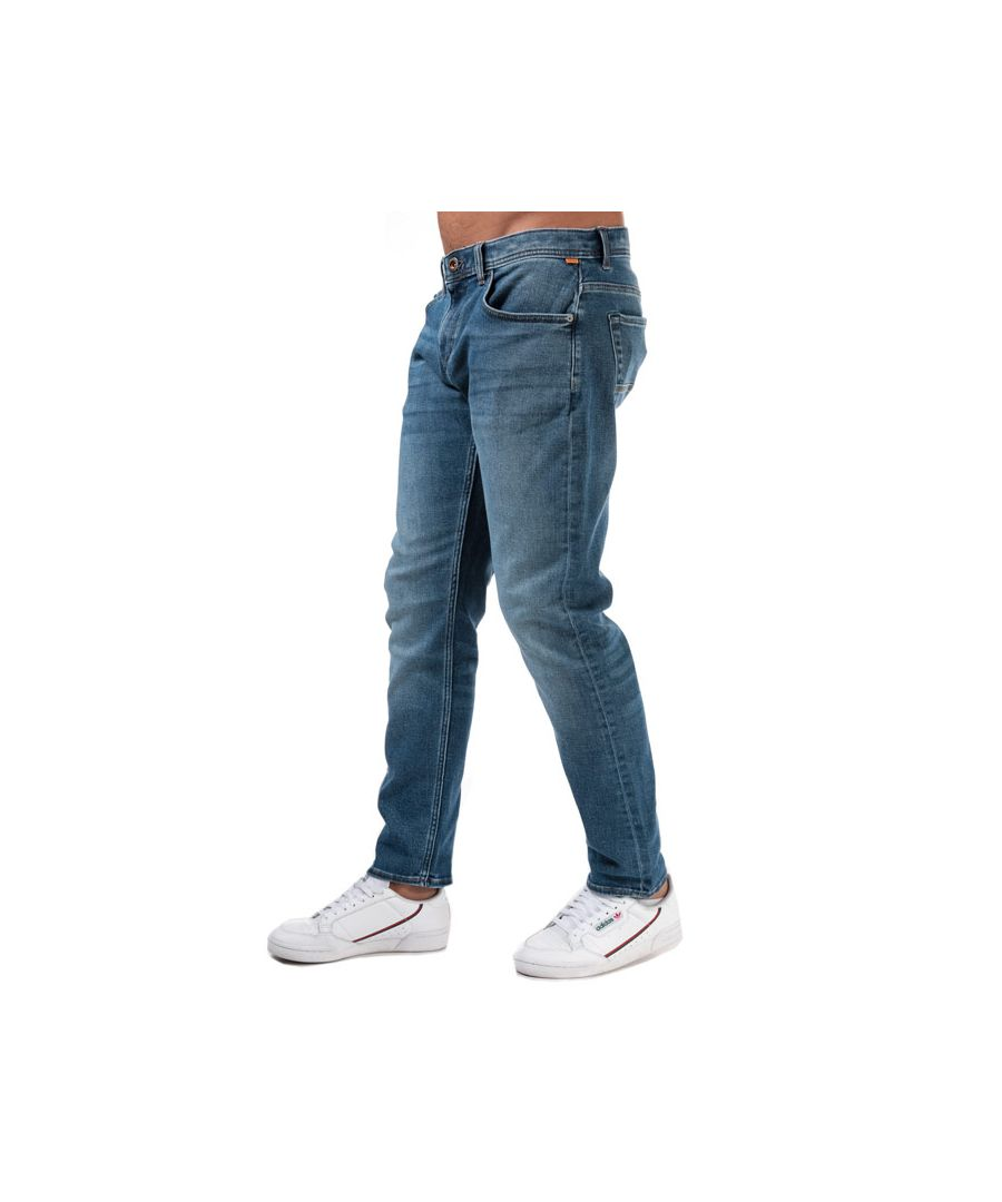 Image for Men's Timberland Heavy Drill Den Tapered Jeans in Denim