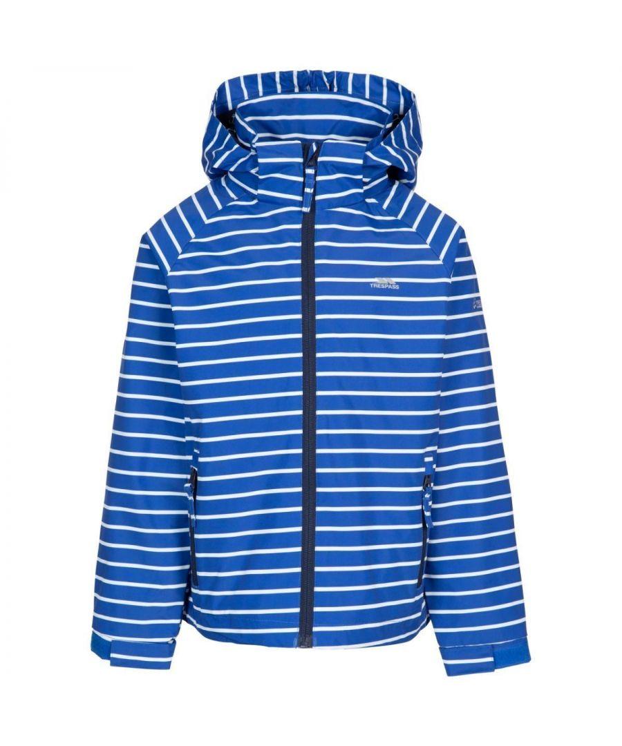 Image for Trespass Boys Arrival Waterproof Jacket (Blue)