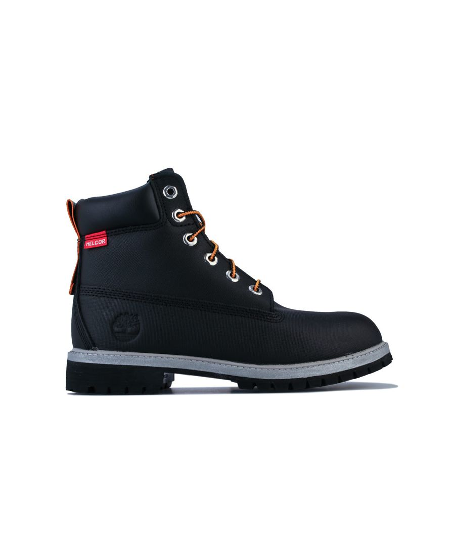 Image for Boy's Timberland Junior 6 Inch Premium WP Boot in Black