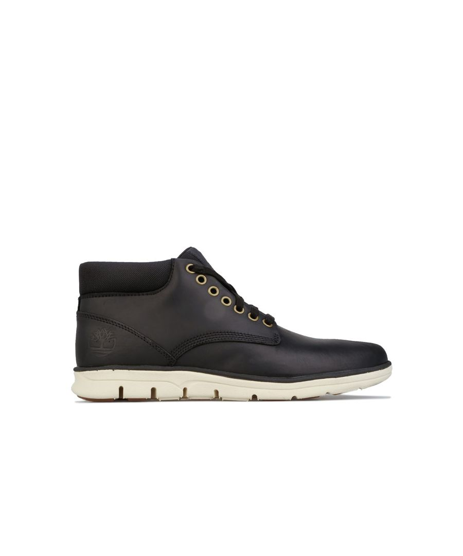 Image for Men's Timberland Bradstreet Chukka Leather Boot in Black