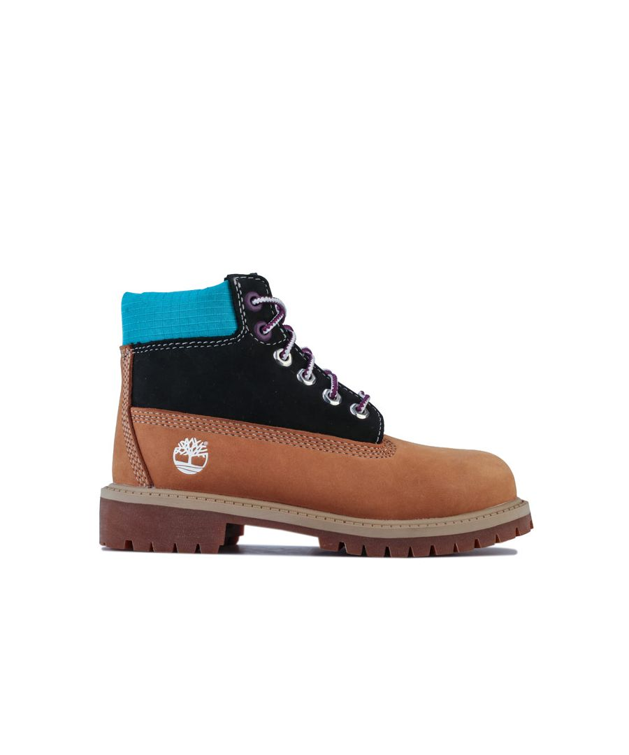 Image for Boy's Timberland Children 6 Inch Premium Boots in Wheat