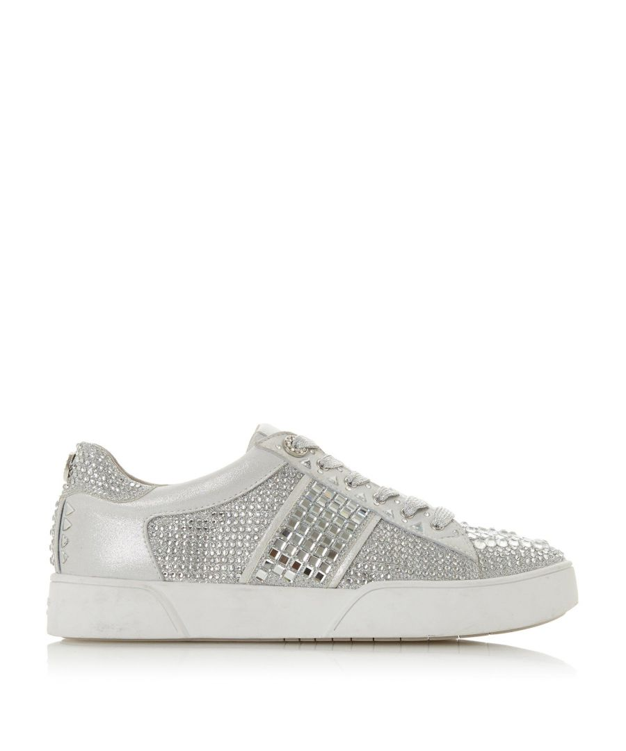 Image for Dune Ladies ELSIE S  Lace Up Bumper Sole Trainers
