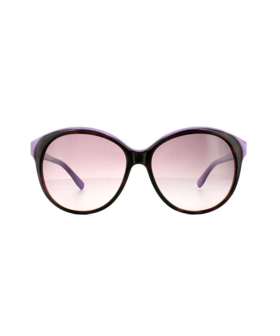 Image for Lacoste Sunglasses L748S 219 Havana Violet Pink Gradient