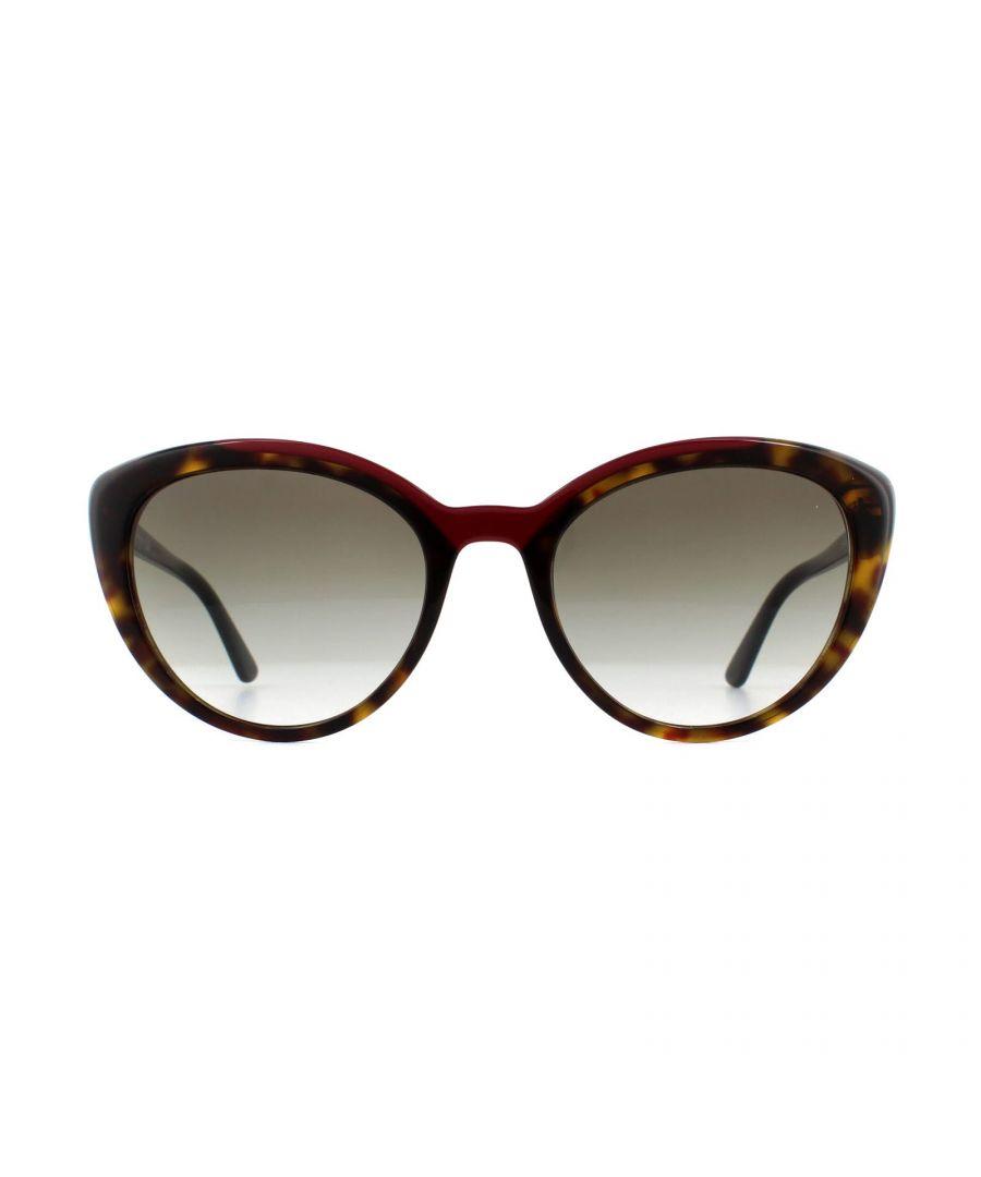 Image for Prada Sunglasses PR 02VS 3200A7 Havana Red Grey Gradient
