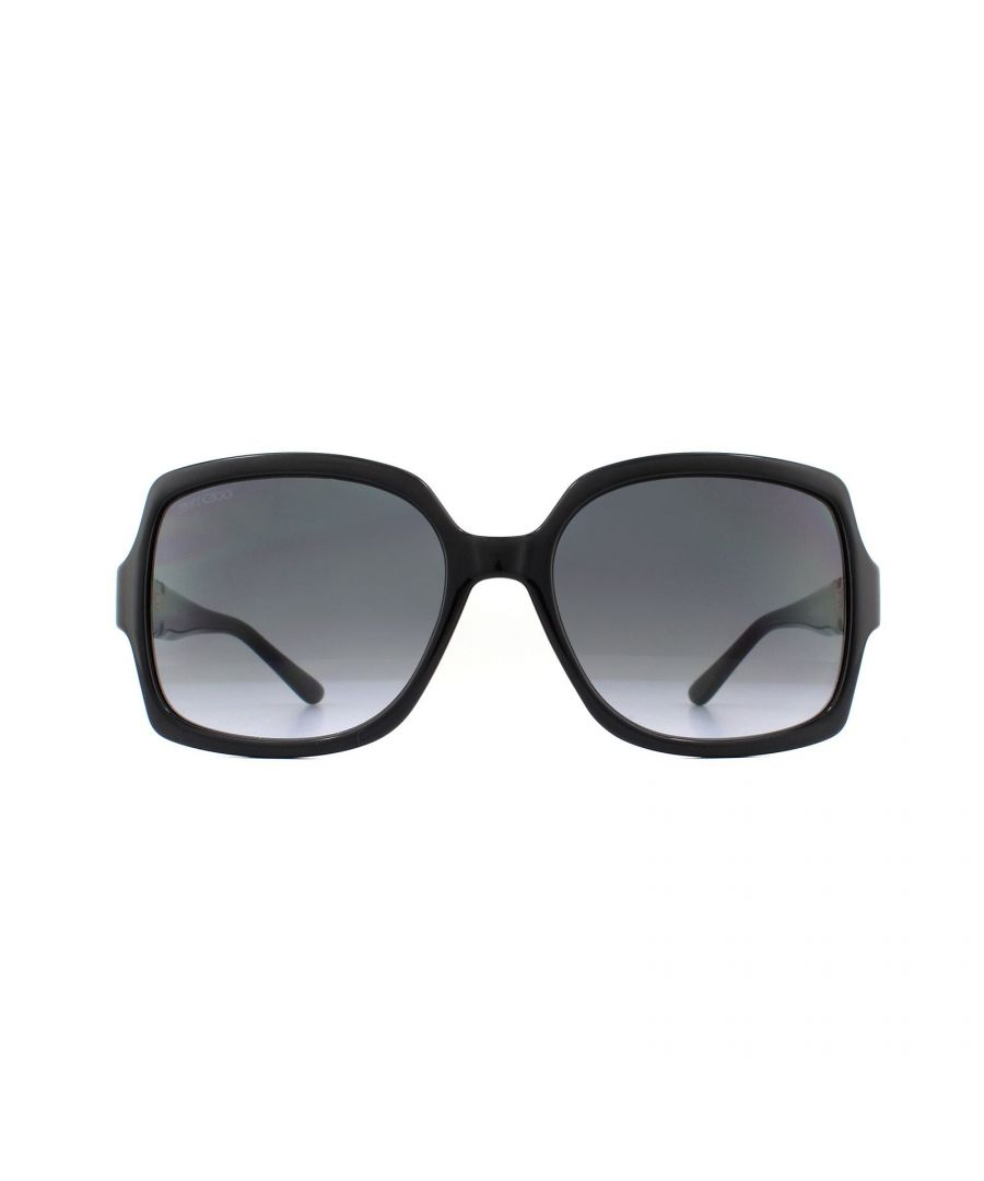 Image for Jimmy Choo Sunglasses SAMMI/G/S 807 9O Black Dark Grey Gradient