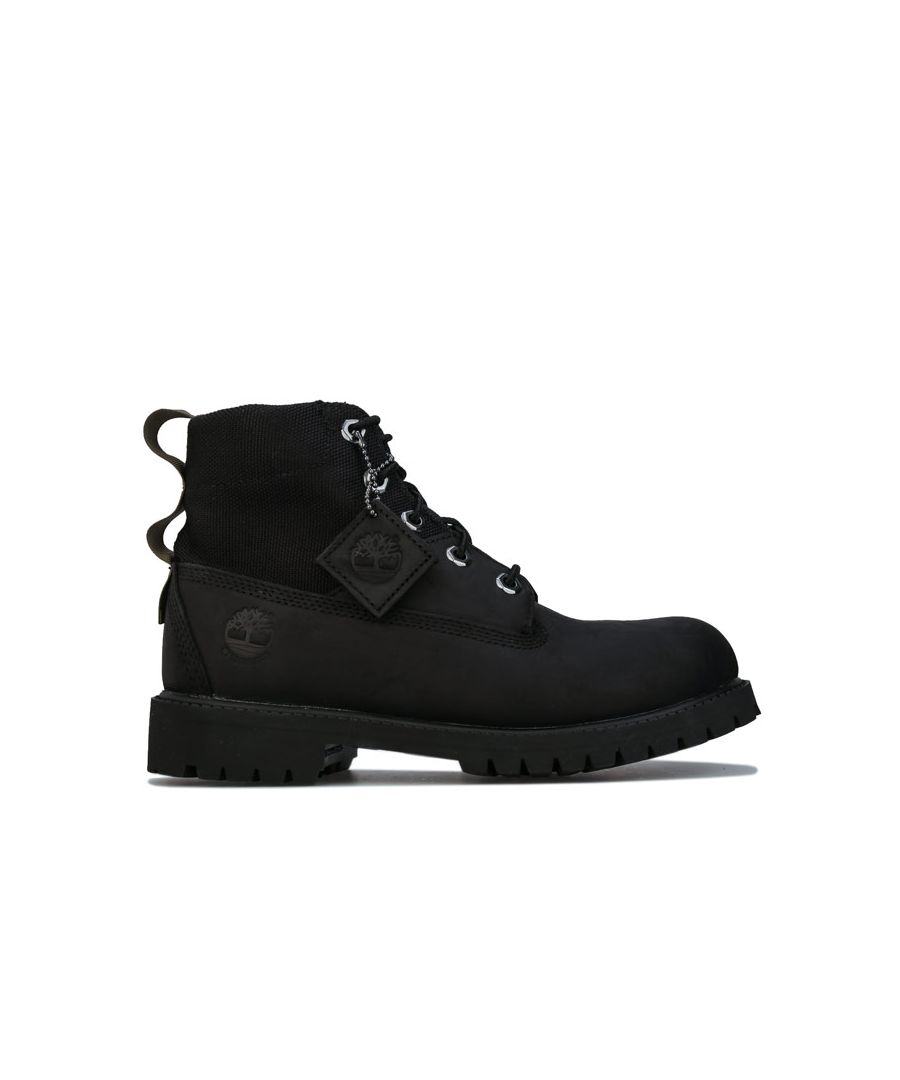 Image for Boy's Timberland Junior 6 Inch Treadlight Boot in Black