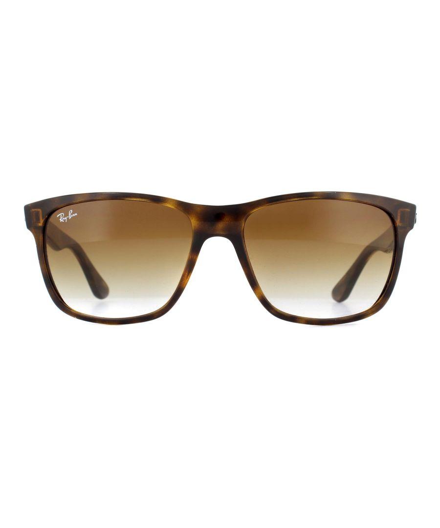 Image for RayBan Sunglasses 4181 710/51 Light Havana Brown Gradient