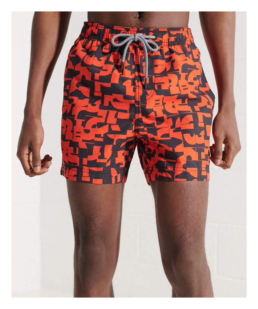 Image for Superdry Beach Volley All Over Print Swim Shorts