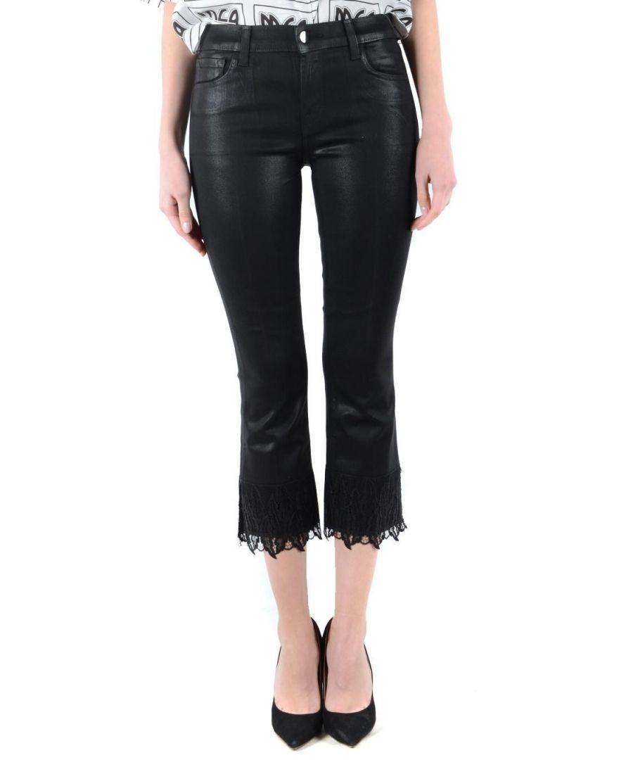 Image for J BRAND WOMEN'S JB001863J00929 BLACK ACETATE PANTS