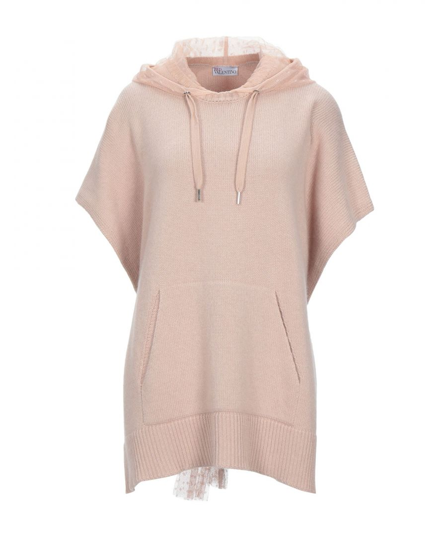 Image for Redvalentino Wool Lightweight Knit Hoodie