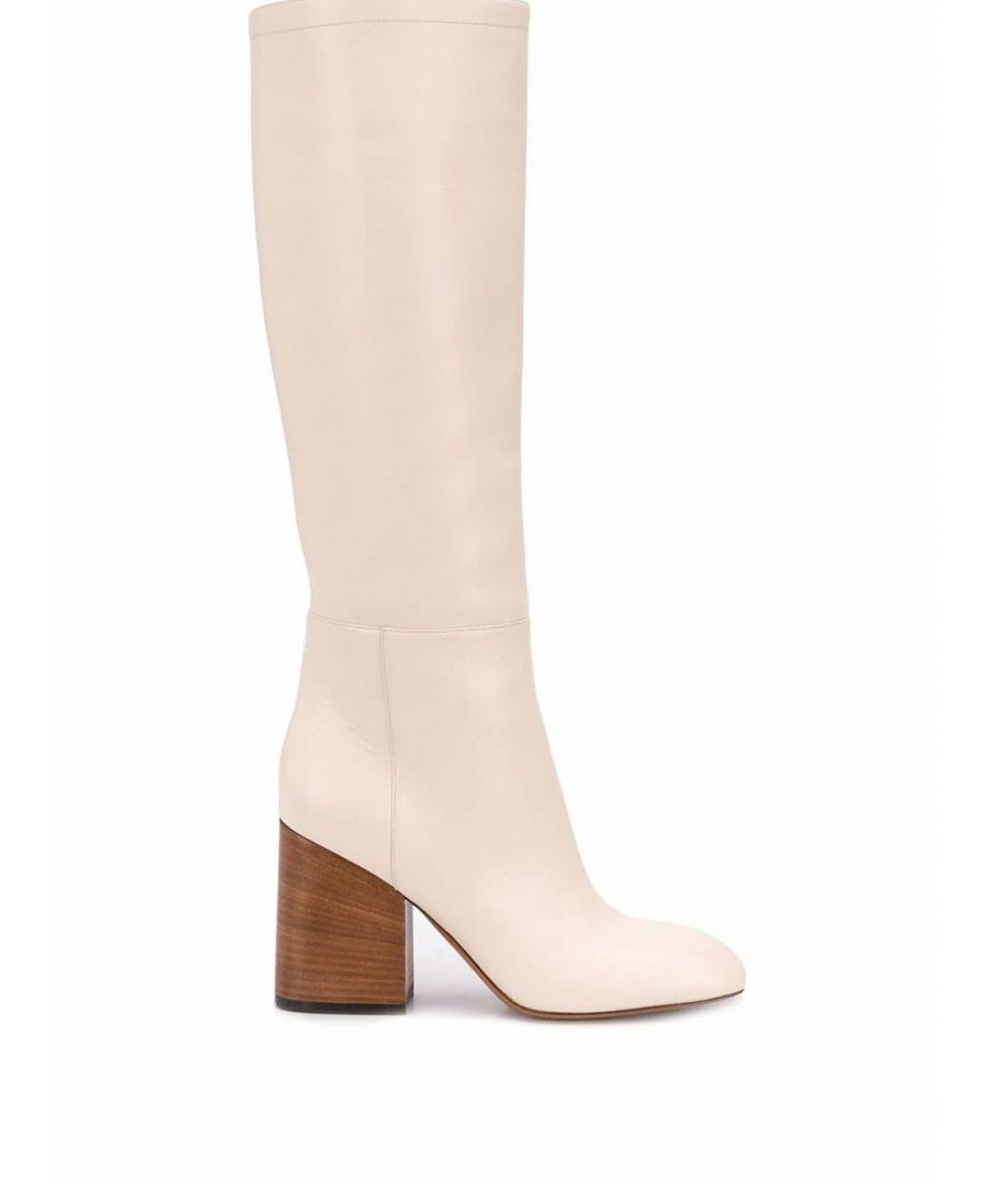 Image for MARNI WOMEN'S STMS001009LV81700W11 WHITE LEATHER BOOTS