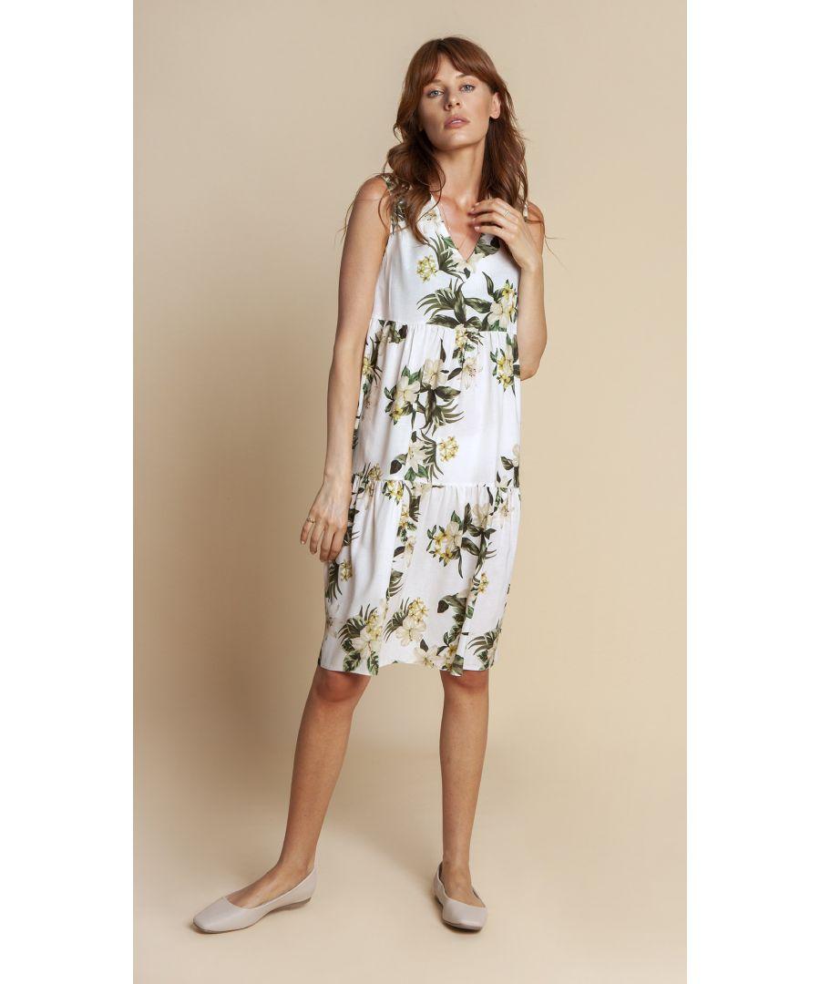 Image for Dress Celine Floral White