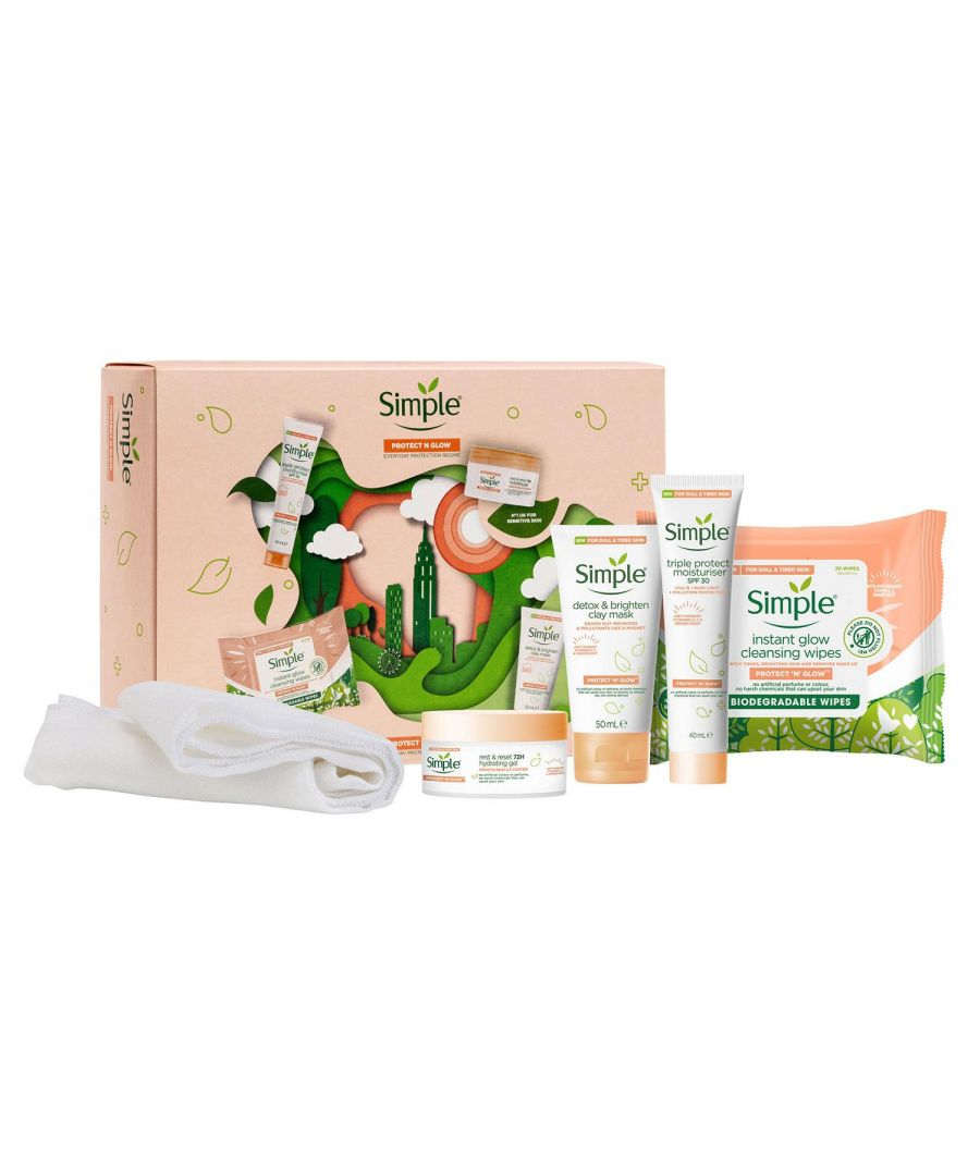 Image for Simple Protection N Glow Skin Care Gift Set