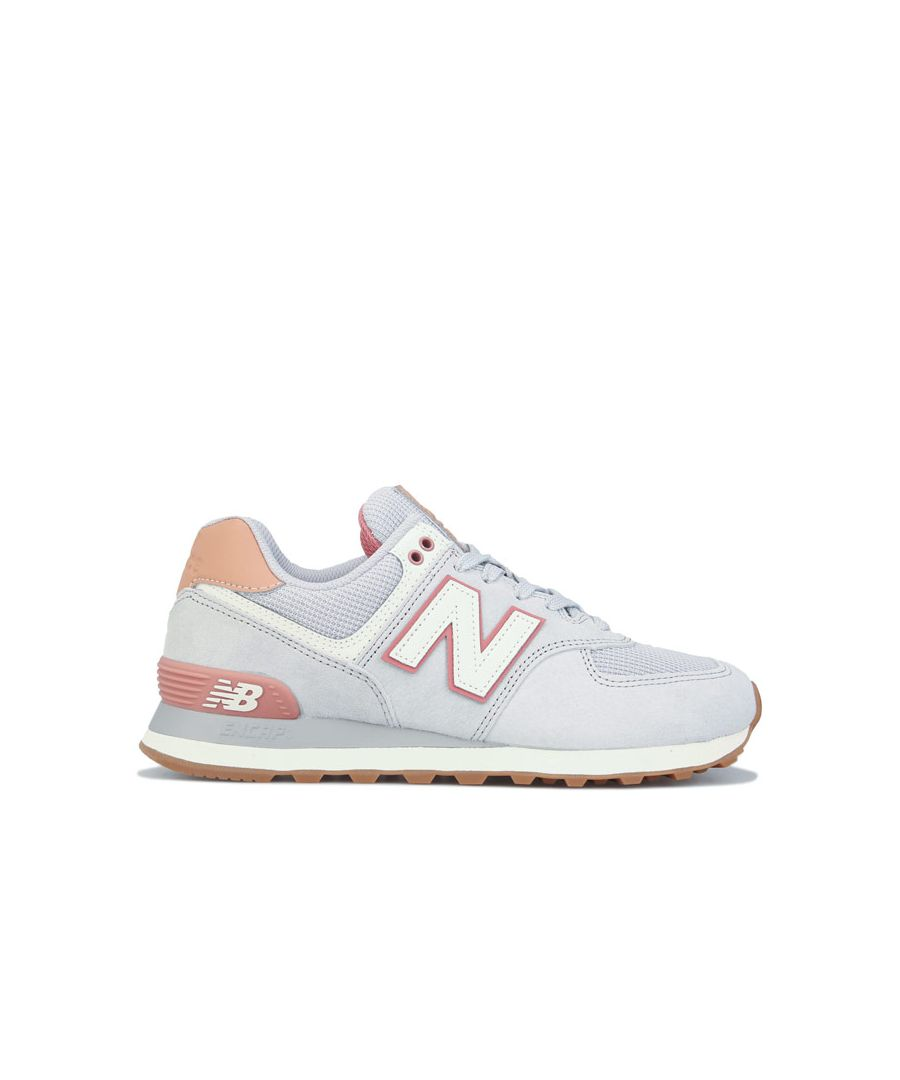 Image for Women's New Balance 574 Trainers in Grey