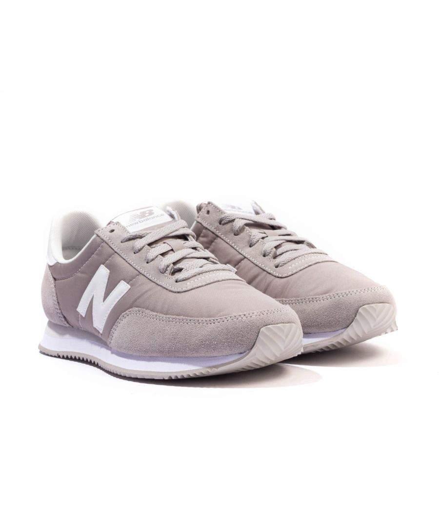 Image for New Balance 720 Suede & Mesh Trainers - Grey