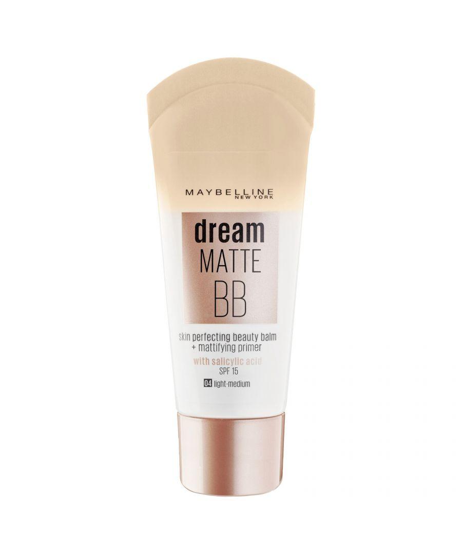 Image for Maybelline New York Dream Matte BB 30ml SPF15 - 04 Light Medium