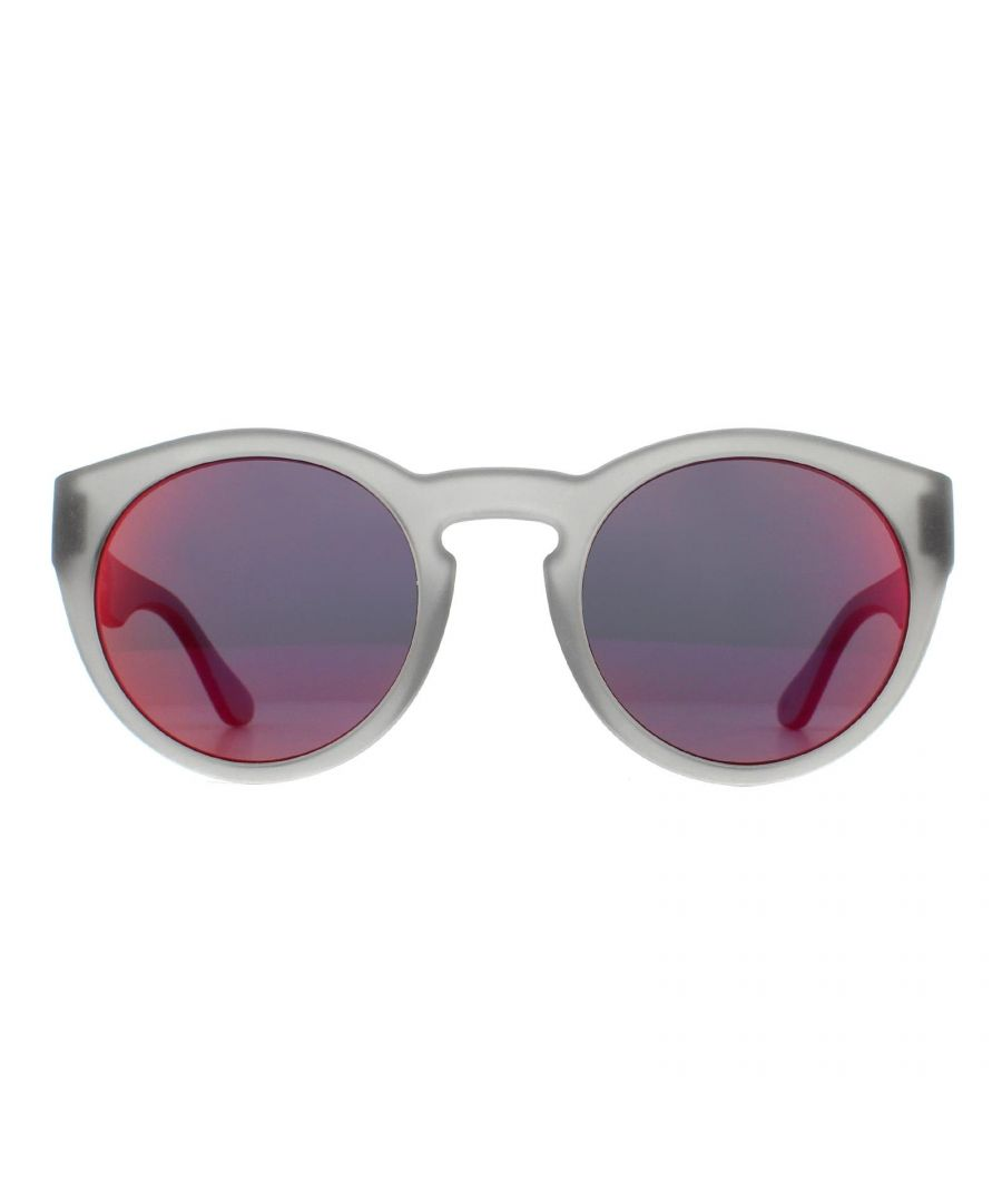 Image for Tommy Hilfiger Sunglasses TH 1555/S FRE UZ Matte Grey Red Mirror